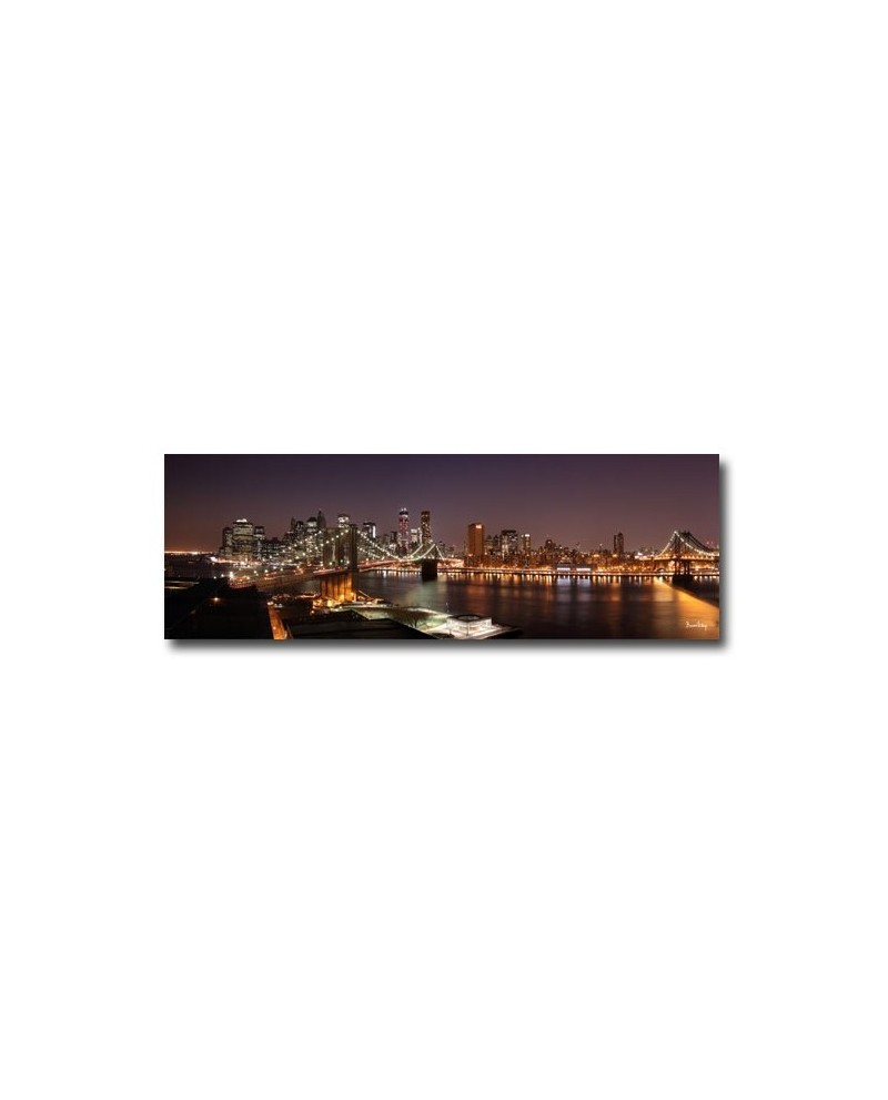 Tableau manhattan by night boniday for Tableau paris londres new york