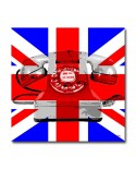 Tableau phone UK  drapeau