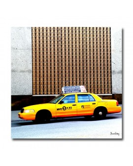 Tableau photo Taxi new york