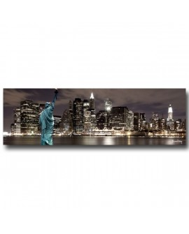 Tableau Plexiglass New York city By Night