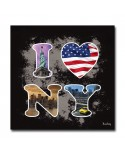 Tableau I Love NY Design
