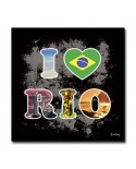 Tableau I Love Rio Design
