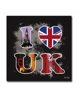 Tableau I Love UK Design
