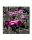 Tableau Design Jeep-Rose
