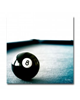 Tableau Photo boule de billard
