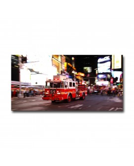 Tableau fire truck new york