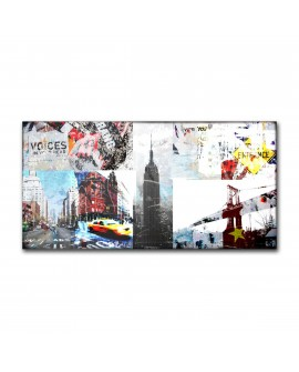 Tableau Plexiglass Collage New York