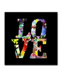 Plexiglass love graffitis