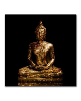 Plexiglass photo statue bouddha