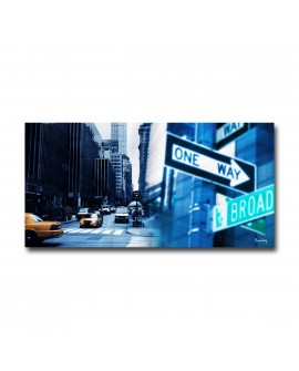 Tableau plexiglass Déco New York One Way