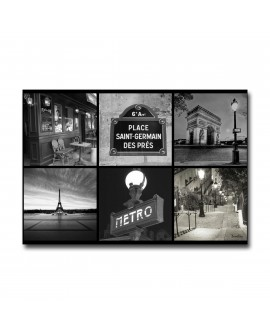 Tableau plexiglass Moderne Paris St Germain