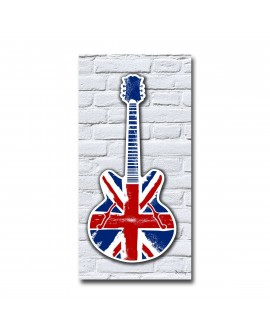Tableau plexiglass Guitare Rock UK