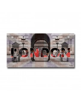 Tableau plexiglass Design London-City