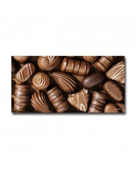 Tableau plexiglass Photo Chocolat