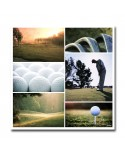 Plexiglass mosaique golf