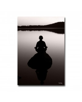 Plexiglass zen photo meditation