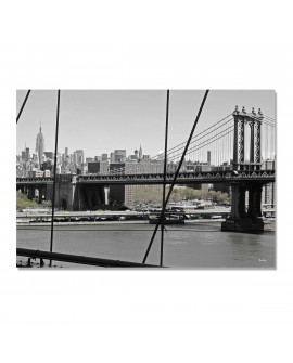 Tableau pont du Manhattan Bridge
