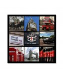 Tableau Mosaïque Modern City of London