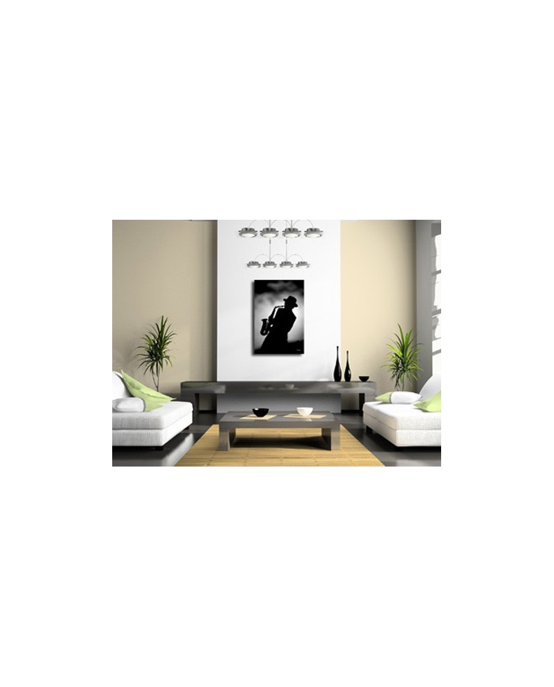 tableau d co moderne jazzman. Black Bedroom Furniture Sets. Home Design Ideas